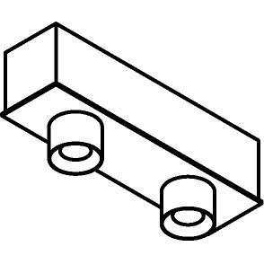 Drawing of 8318/.. - STELLA, opbouw plafondverlichting - vast - met ronde Zia Led - met LED driver