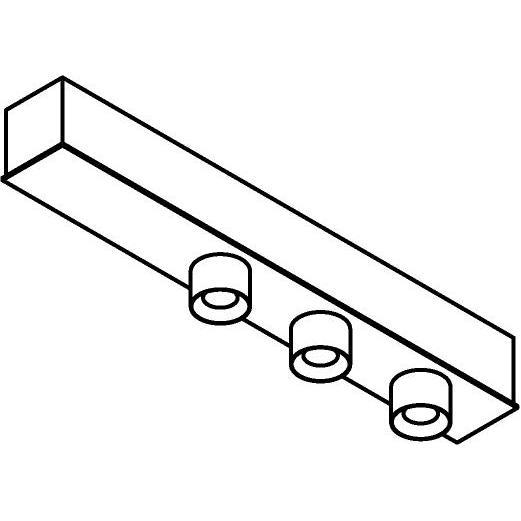 Drawing of 8337/.. - STELLA, opbouw plafondverlichting - vast - met ronde Zia Led - met LED driver