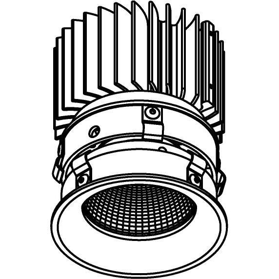 Drawing of E-CLICKBOM.CTZ/.. - Ø80-82 EQUAL CLICK SYSTEM - CITIZEN LEDMODULE, inbouwcassette - rond - vast