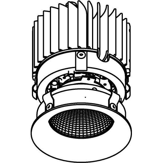 Drawing of E-CLICKBOM.XTM/.. - Ø80-82 EQUAL CLICK SYSTEM - XICATO LEDMODULE, inbouwcassette - rond - vast - zonder LED driver