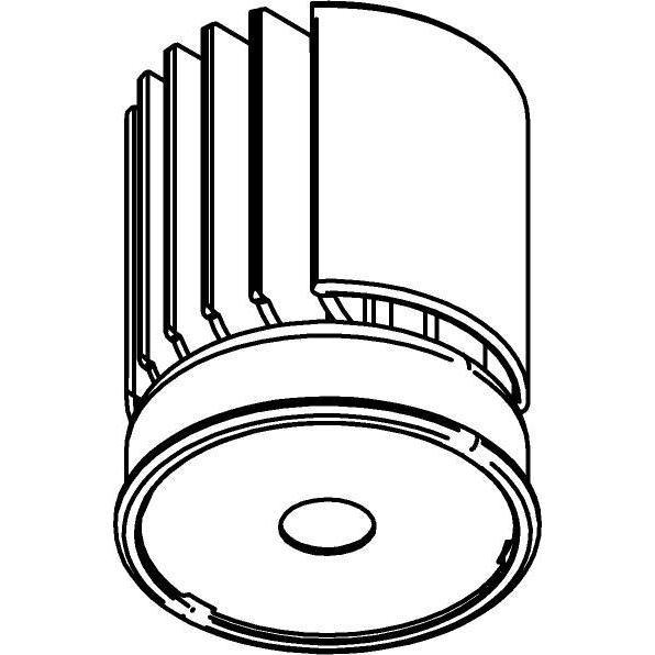 Drawing of DC_1200_D36/.. - LEDMODULE DC, ledmodule - SLA DC Module + bevestiging spot - zonder LED driver