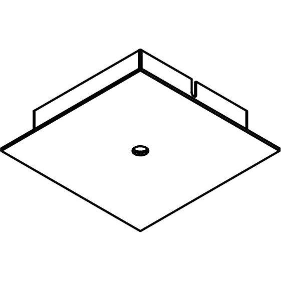 Drawing of 650/.. - TEXO, opbouwrozet - vierkant - geen plaats voor transfo