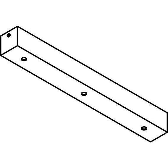 Drawing of 1166.400/.. - JUBA, plafondverlichting zonder spot of pendel - 40cm - met 3 openingen - plaats voor driver