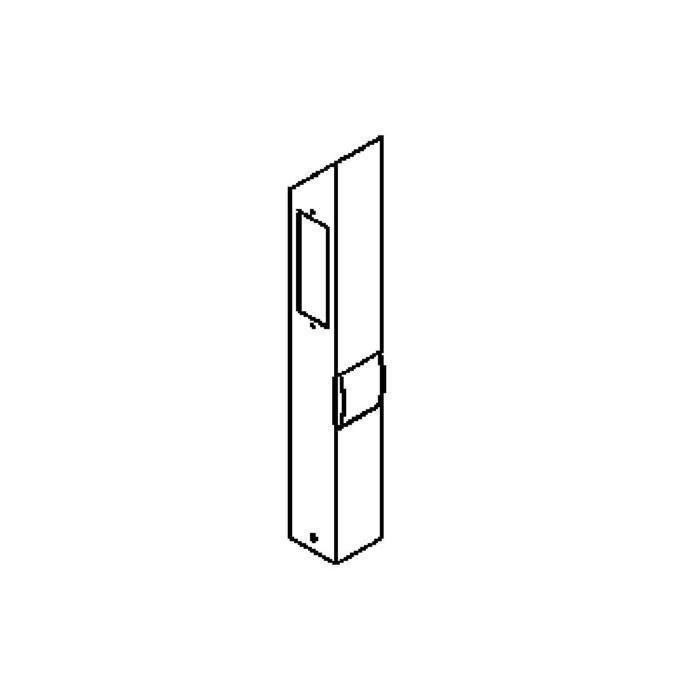 Drawing of T453.600.LED/.. - PONTOS, tuinpaal met stopcontact - vast - 3 openingen - met stopcontact