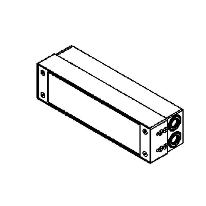 Drawing of W1214.LED/.. - STONE, inbouw wandlicht - geen inbouwdoos nodig