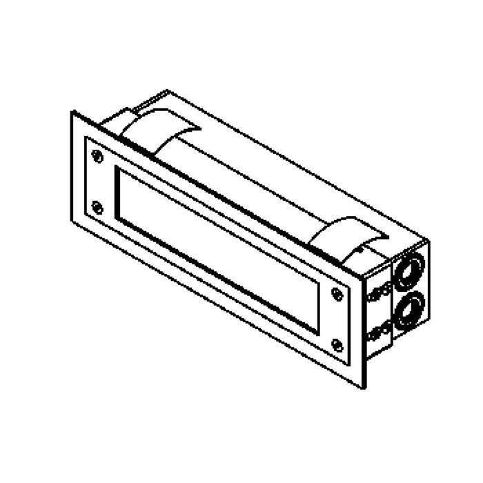 Drawing of W1215.LED/.. - STONE, inbouw wandlicht