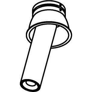 Drawing of 1170.150.S2/.. - PIVOT, inbouwspot - rond - richtbaar - zonder LED driver