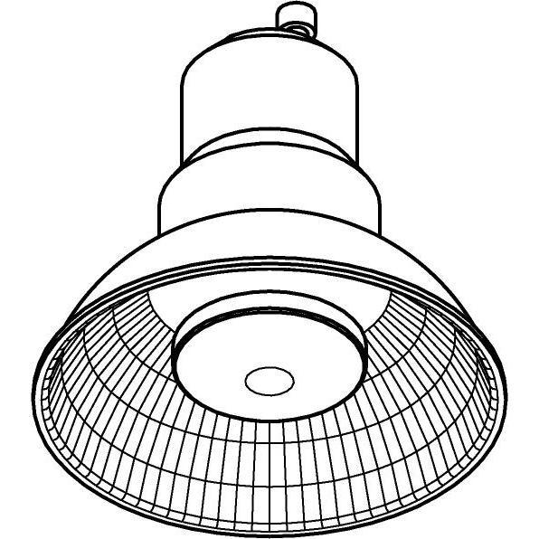 Drawing of AR62GU10/.. - LED,