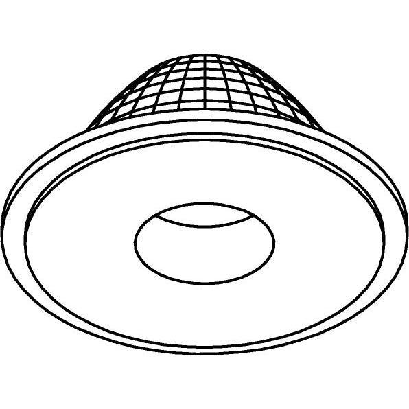 Drawing of NOVA.D15/.. - NOVA LED LENS, Lens 15°