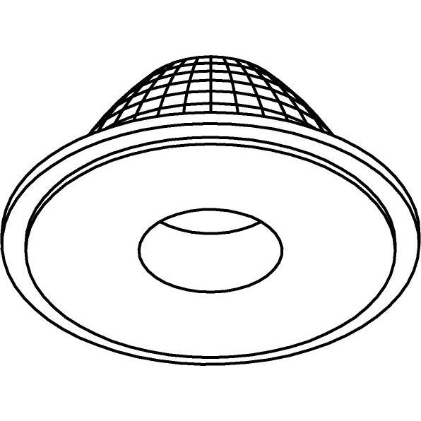 Drawing of NOVA.D60/.. - NOVA LED LENS, Lens 60°