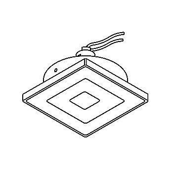 Drawing of 90.CZL.RIGA/.. - SCS SYSTEM, inbouwcassette - vierkant