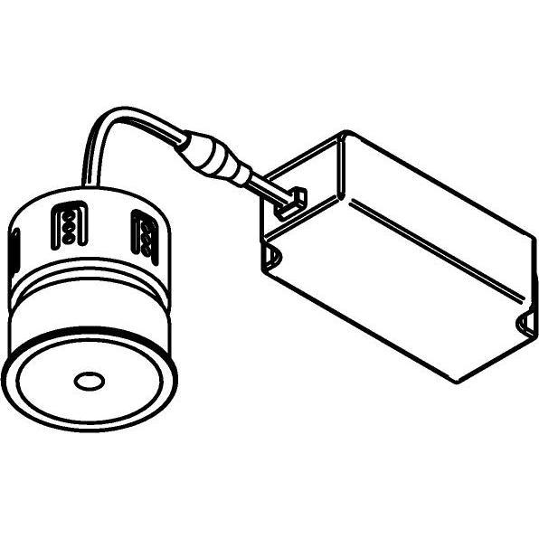 Drawing of NOVASOFT/.. - NOVA SOFT DIM, ledmodule - met LED driver