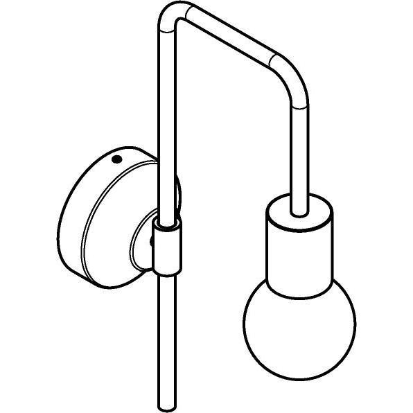 Drawing of 5102/.. - CLEO, opbouw wandlicht - vast