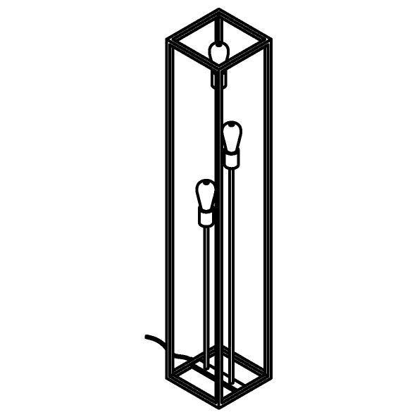 Drawing of 4965/.. - MAESTRO, staanlamp - vast