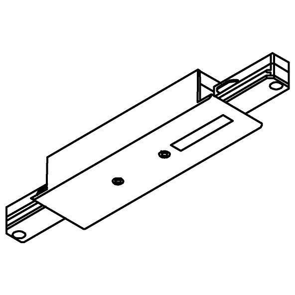 Drawing of 4807/.. - MERO 1FASE, I-connector met aansluitmogelijkheid voor voeding