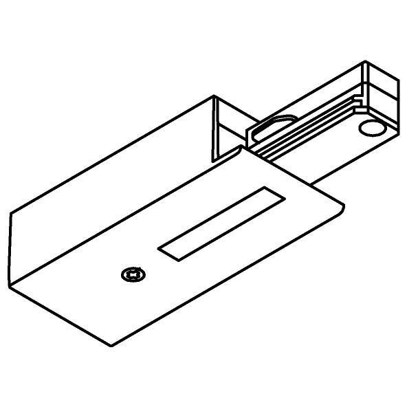 Drawing of 4811/.. - MERO 1FASE, Eindvoeding