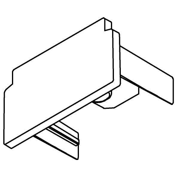 Drawing of 4813/.. - MERO 1FASE, Eindkap