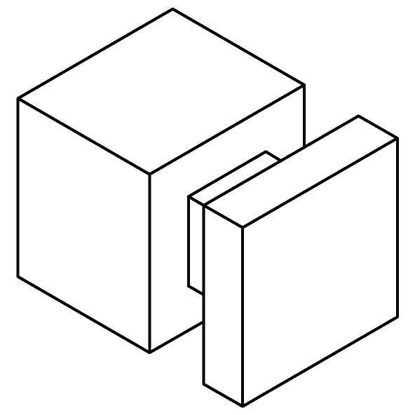 Drawing of 510.0003/.. - CASCADE, Wandhaak