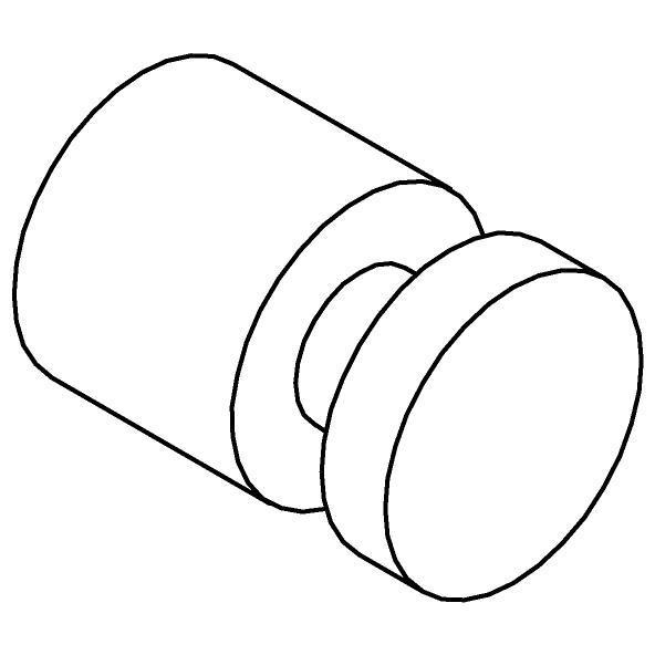 Drawing of 510.0001/.. - CASCADE, Wandhaak