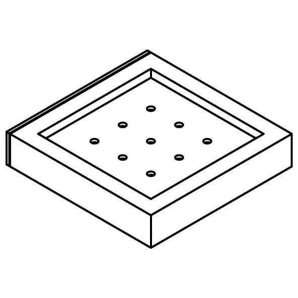 Drawing of 510.0020/.. - CASCADE, Zeephouder