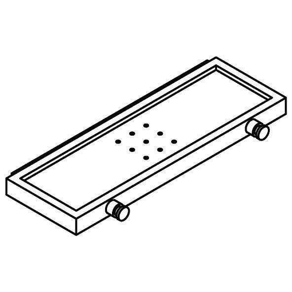 Drawing of 510.0023/.. - CASCADE, Zeephouder met haak