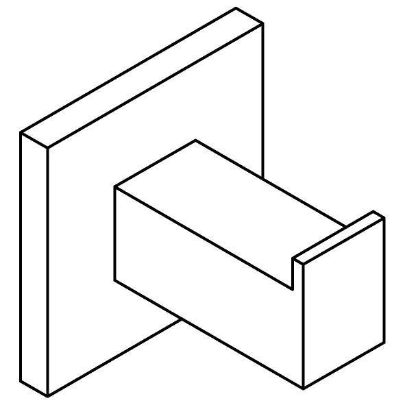 Drawing of 510.0004/.. - CASCADE, Wandhaak