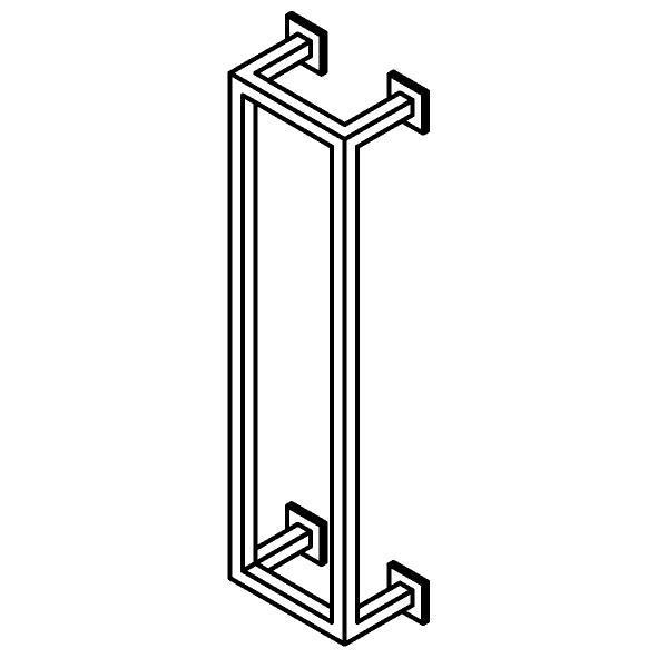 Drawing of 510.0017/.. - CASCADE, Handdoekrek