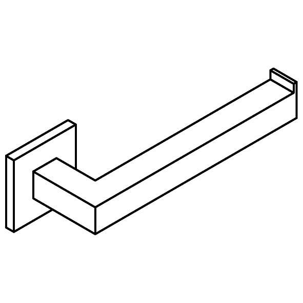 Drawing of 510.0030/.. - CASCADE, Toiletrolhouder - rechts