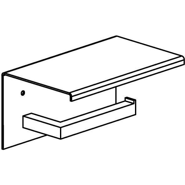 Drawing of 510.0026/.. - CASCADE, Toiletrolhouder