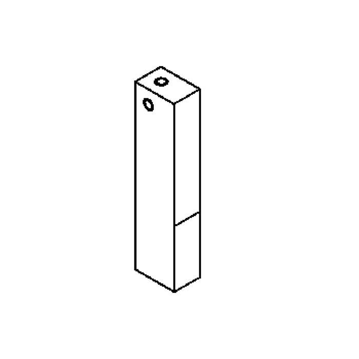 Drawing of 1239B/.. - SMALL SCREEN box VT, inbouwdoos