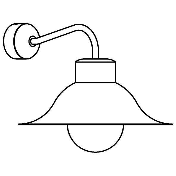 Drawing of 3503/.. - CIMBALO, opbouw wandlicht