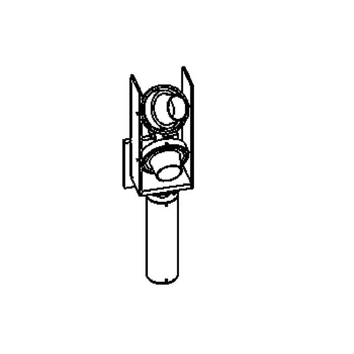 Drawing of 1290/.. - FORUM Portable Lamp, opbouw wandlicht - richtbaar - standaard kabel 1,5m met schakelaar - met transfo