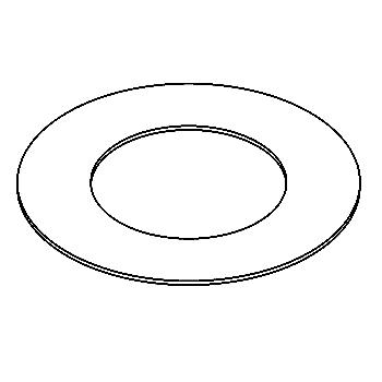 Drawing of 140.80/.. - ADAPTION RING, toebehoren - vergrootring rond