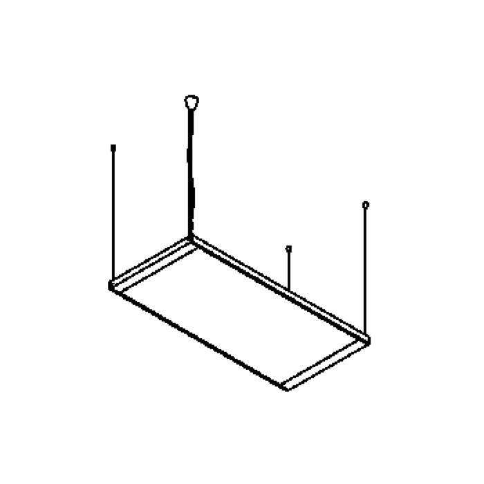 Drawing of 1532/.. - PALLADIO, hanglamp - met electronische ballast
