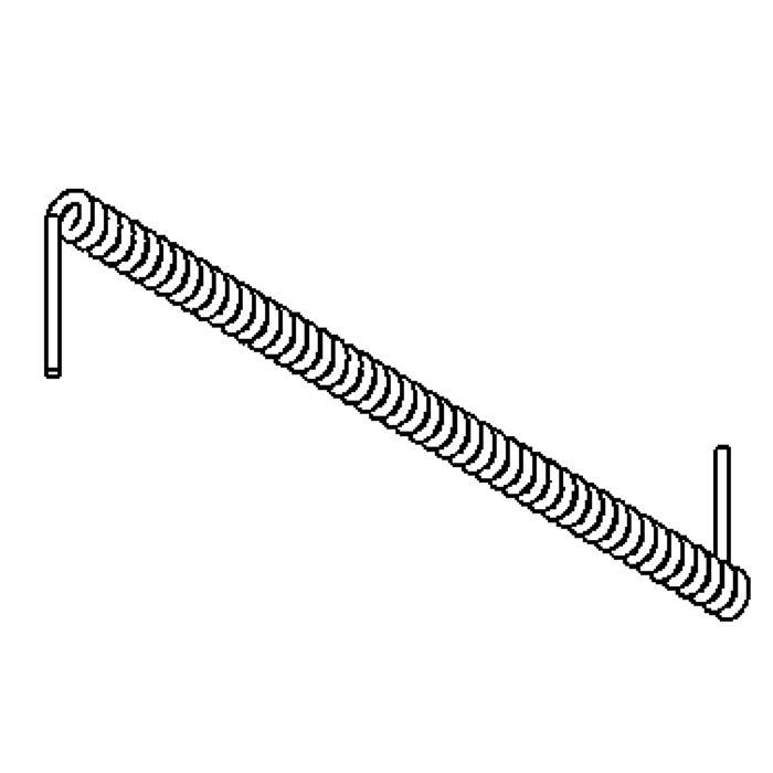 Drawing of 2027/.. - METRO, accessoires voor lichtsystemen - spiraalkabel 5XG1