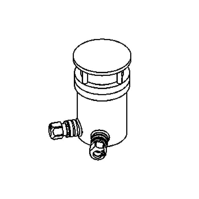 Drawing of 2206/.. - LAVA orientation, oriëntatie grondverlichting - vast - zonder transfo