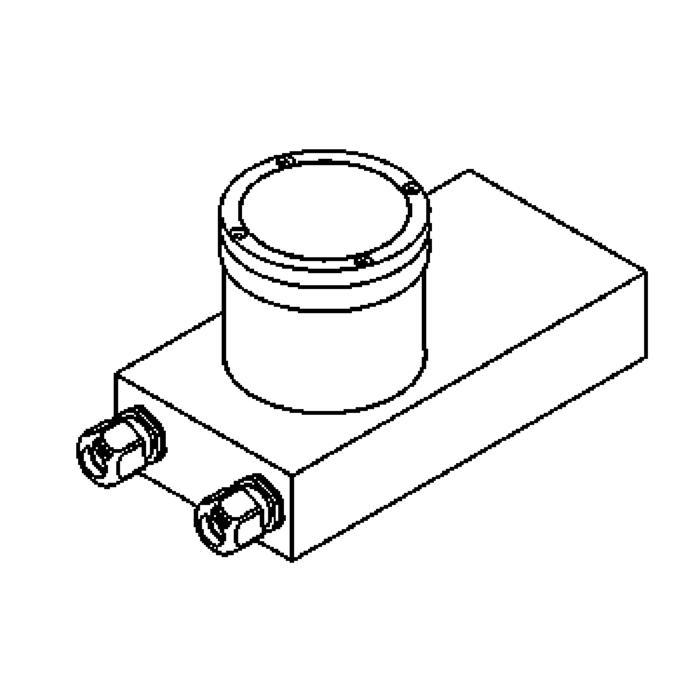 Drawing of 2210.5/.. - ETNA, grondspot - richtbaar - met transfo
