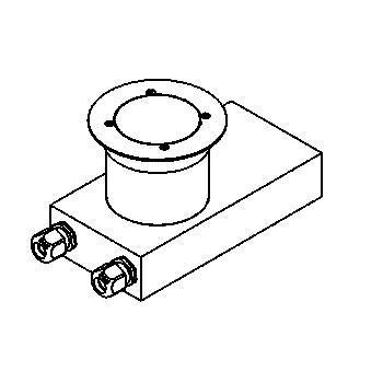 Drawing of 2215.5.160/.. - ETNA, grondspot met afdekkader op de bevloering - richtbaar - met transfo