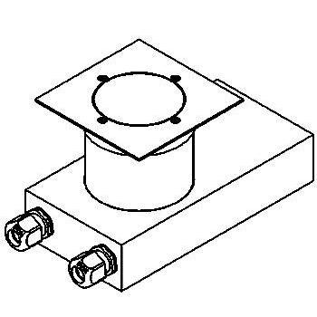 Drawing of 2258.5.150/.. - ETNA, grondspot met afdekkader op de bevloering - richtbaar - met transfo