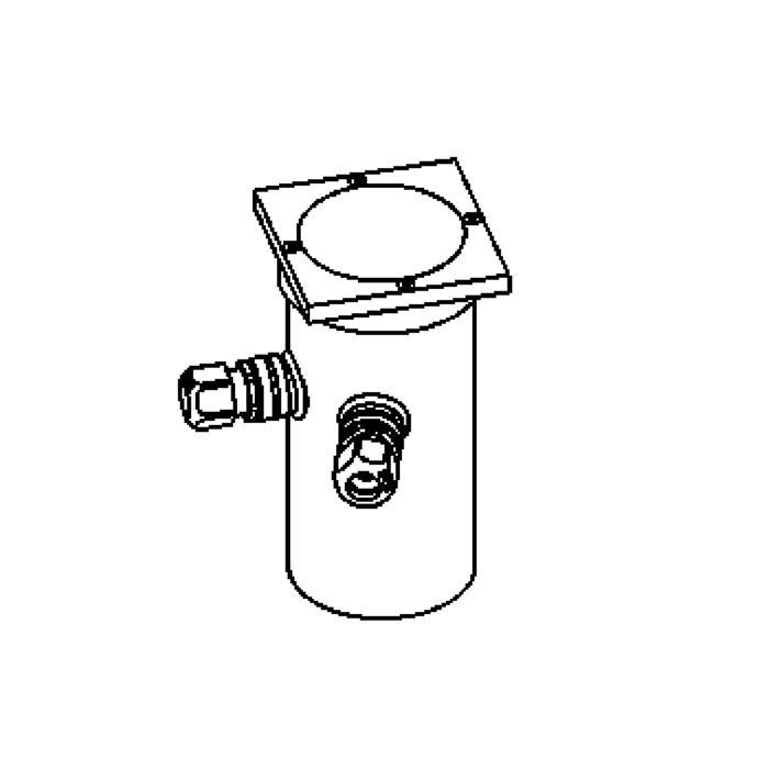 Drawing of 2303.5/.. - ETNA, grondspot - richtbaar - met transfo
