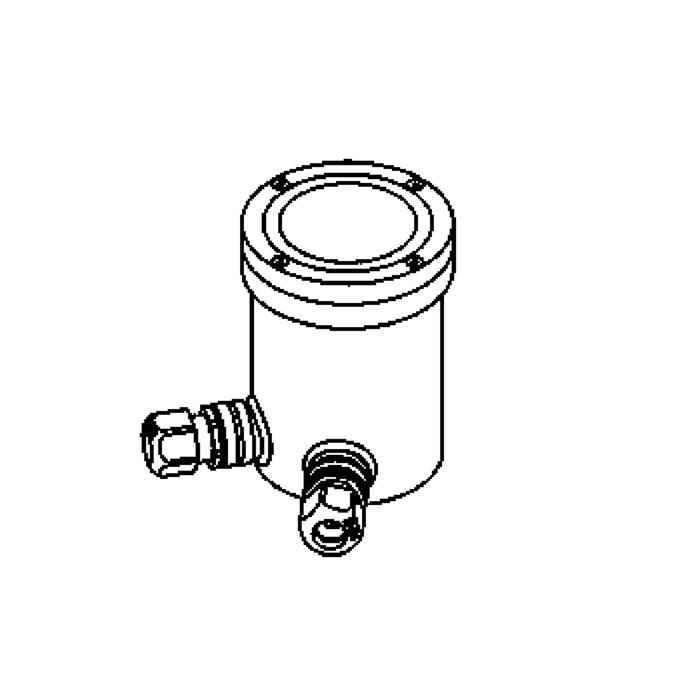 Drawing of 2305.B.5/.. - LAVA, grondspot - vast - zonder transfo