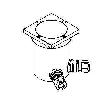 Drawing of 2307.9/.. - LAVA, grondspot - vast - microlynx