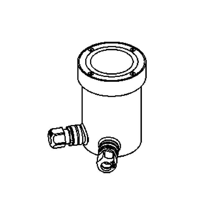 Drawing of 2310.A.5/.. - LAVA, grondspot met inwerkkader gelijk met de bevloering - vast - LED 230V