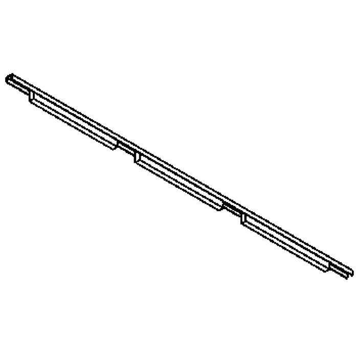 Drawing of 2503/.. - CLIP SMALL, lichtsysteem - PC 3 x 600mm - met electronische ballast