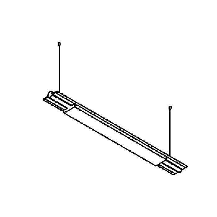 Drawing of 2806/.. - BUTTERFLY, Lichtsystem - mit elektronischem Vorschaltgerät