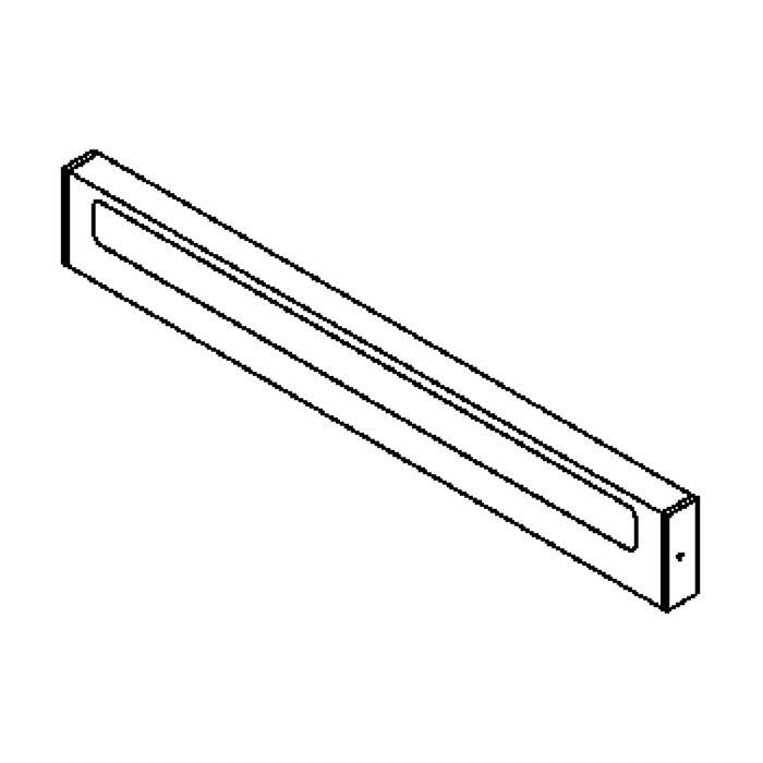 Drawing of 3015/.. - AURA, opbouw wandlicht - met electronische ballast
