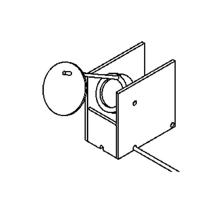 Drawing of 3072/.. - GOCCI, lampe de table - orientable - avec interrupteur - fil et prise