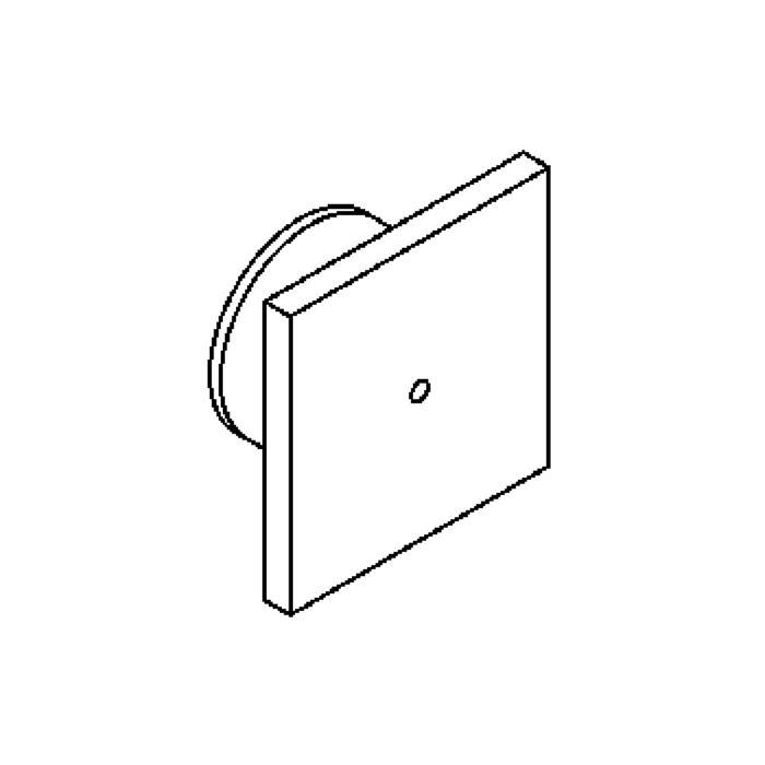 Drawing of 3102/.. - TUCAN, inbouw wandlicht - zonder LED driver