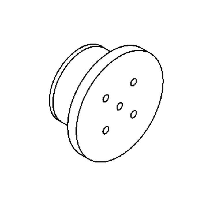 Drawing of 3103/.. - TUCAN, inbouw wandlicht - zonder LED driver