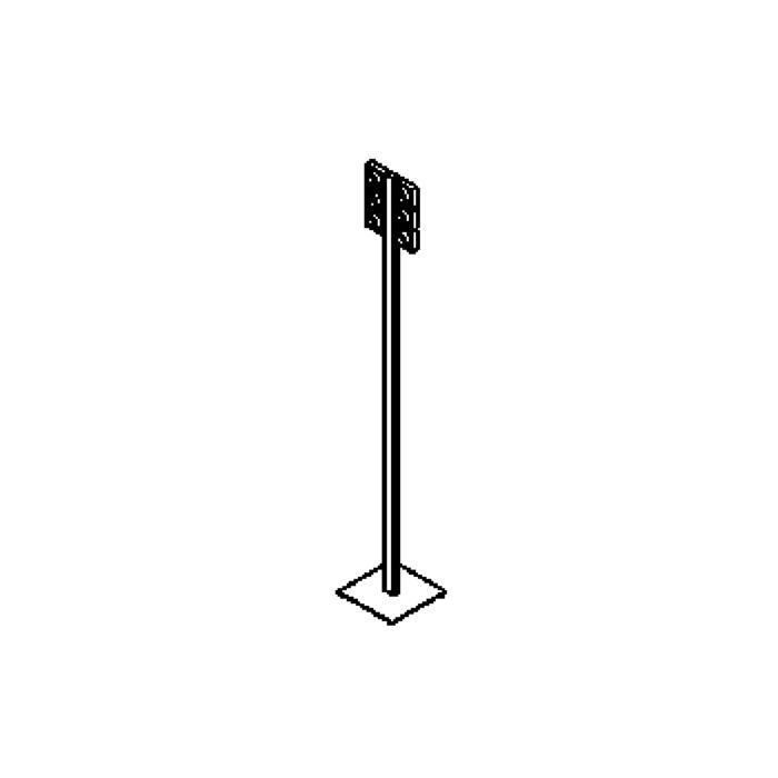 Drawing of 4031/.. - MONTE CRISTO, staanlamp - richtbaar - met schakelaar - snoer en stekker - met transfo